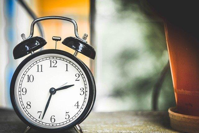 dźwięk zegara do snu