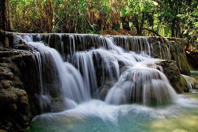naturalny odgłos wodospadu do snu