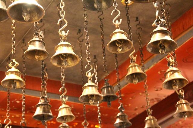 dźwięk dzwonów kościelnych