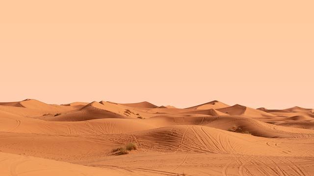 szum pustyni piasku