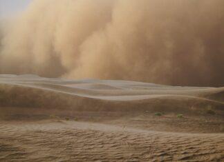 szum burzy piaskowej do snu dla dzieci