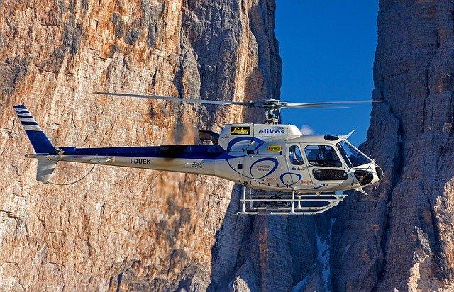 zalety szumu helikoptera
