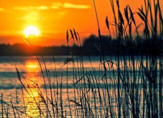 Szum jeziora - łagodny szum wodny