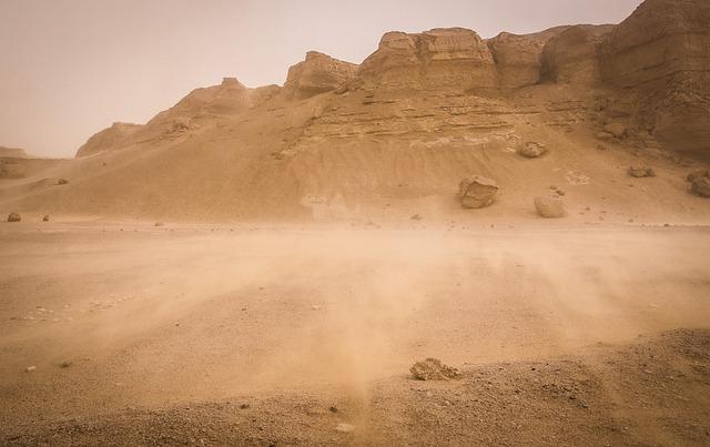 szum burzy piaskowenaturalny szum burza piaskowaj do snu dla dzieci