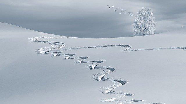 skrzypienie śniegu